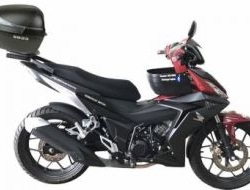 Shad sh33 top case for honda rs150r rs150