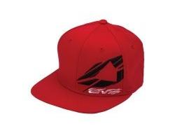 EVS - HAT - SHATTERED HAT FLEXFIT RED