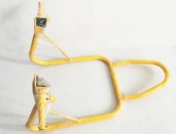 Universal Rear Swing Arm Paddock Stand L (YELLOW)