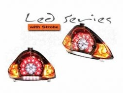 LC 135 LED Tail Brake Lamp With Strobe (LC135)