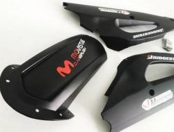 YAMAHA LC Y15ZR Hugger With Swing Arm Cover MATTE