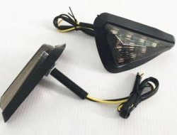 NINJA R25 RS CBR XJ6 LED Signal Fairing Triangle