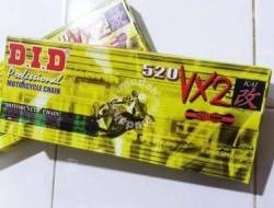 NINJA Versys R25 SL DID Chain 520 VX2 Rantai D.I.D