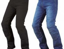 New komine pk726 full year kevlar denim jeans Size S