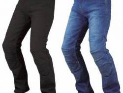 New komine pk726 full year kevlar denim jeans Size L