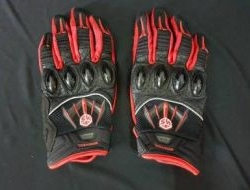 Scoyco Semi Leather with Hard Knuckle Glove Size M