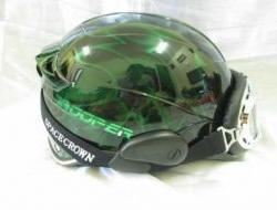 NEW Dark Green Black Space Crown Trooper Helmet Size XXL