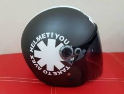 Nice Avex Independent Open Face Helmet Size L