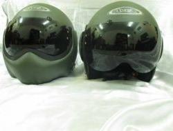 New avex top gun flip up full face helmet Size L