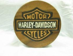 NEW Harley Davidson Collector Wood Chair