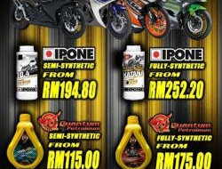 Ipone synthetic oil for all 250cc