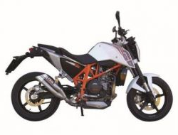 KTM Duke 690 Exhaust (Slip On) (L3X )