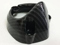 YAMAHA LC Y15ZR Rear Exhaust Cover Carbon (LC 150)