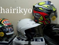 Helmet arai dan shoei original