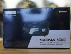Sena 10C Bluetooth Headset   Camera