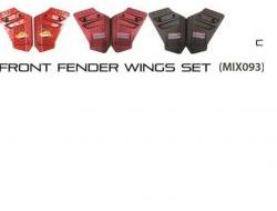 Honda RS 150 Front Fender Wings Set 1pair ( mix093 )iy.o