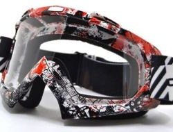 High quality transparent Sport racing off road motocross goggles glasses
