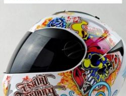 Carbonfiber Double Lens Helmet Full Face Size XL (59.5/60.5cm)