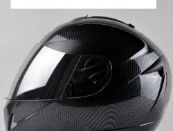 Carbonfiber Double Lens Helmet Full Face Size L (58/59cm)