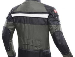 DUHAN Motorcycle Jacket Riding Armor Motocross Off-road Jacket Moto Men Windproof Clothing Motorbike Protector for Winter Autumn Size l