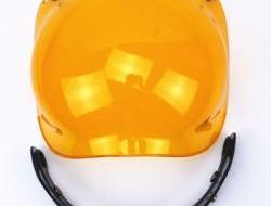 Promotion!! bubble visor top quality open face motorcycle helmet visor 9 color available vintage helmet windshield shield