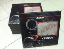 KTM Duke 200 Radiator Net / Radiator Cover