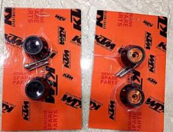 KTM Duke RC 200 390 Front  Rear Wheel Slider