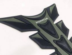Monster Energy tank pad (rubber material)