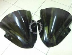 Windshield Kawasaki Ninja 250 Dark Bubble New