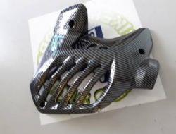 Yamaha NVX Radiator Cover Guard Carbon - Free Pos