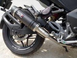 Modenas Pulsar RS200 Ekzos SBK Carbon Conic