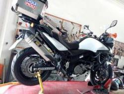 Suzuki Vstrom 650 Exhaust Dual Purpose SBK ekzos
