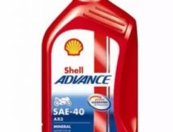SHELL ADVANCE MOTORCYCLE ENGINE OIL AX3 SAE-40 1L