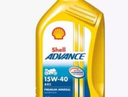 SHELL ADVANCE MOTORCYCLE ENGINE OIL AX5 15W-40 1L