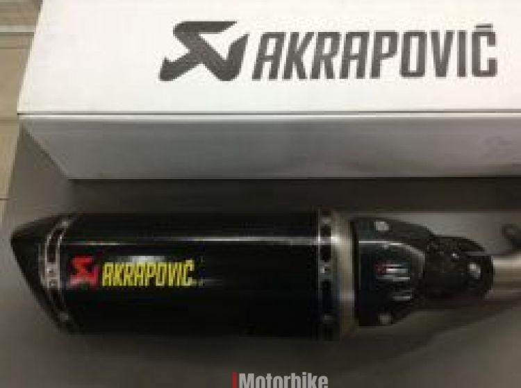 Akrapovic Slip On For Kawasaki Z800