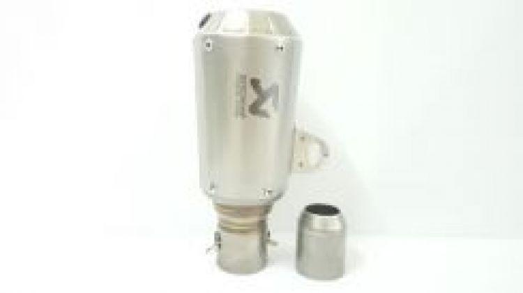 Akrapovic titanium color gp exhaust