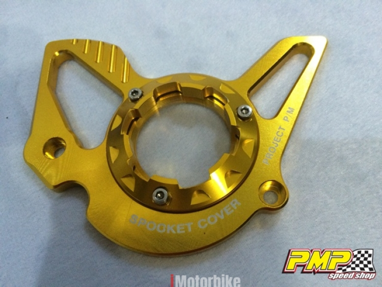 Alloy Front Sprocket Cover Y15ZR / MX King / Exciter 150 (Gold), RM95,  Chains, Sprockets & Parts Motorcycles, Kuala Lumpur | imotorbike my