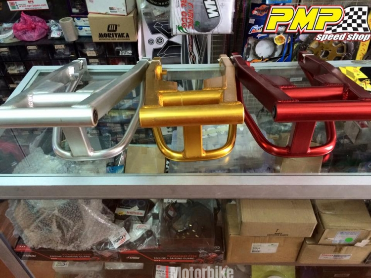 ALLOY SWING ARM SUZUKI RAIDER 150 / BELANG 150 / SATRIA F150 +2INCHES  (Silver), RM330, Other Motorcycle Parts Motorcycles, Kuala Lumpur |