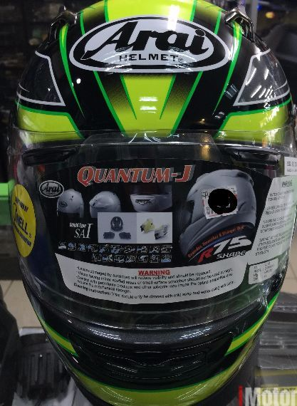 ARAI QUANTUM J ELECTRIC GREEN