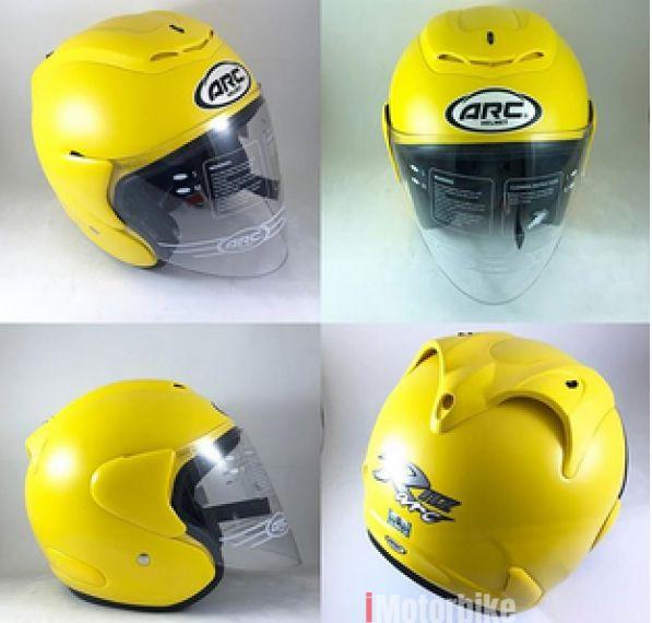 ARC RITZ Matte colour Yellow Size XL