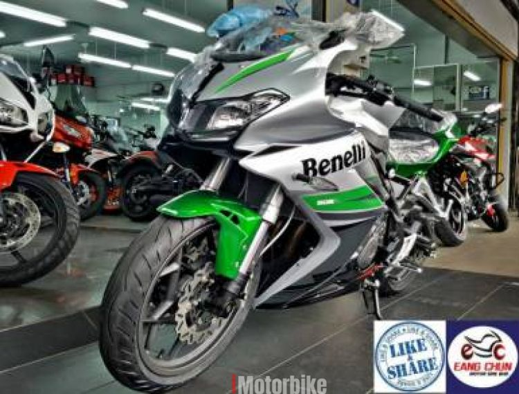 2018 302R Benelli - 17 Gifts Items - Exhaust Slip On