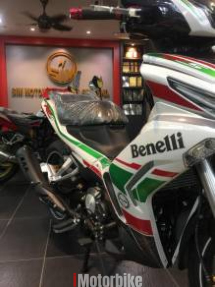 2018 Benelli RFS150i LE (Limited Edition) 90% credit