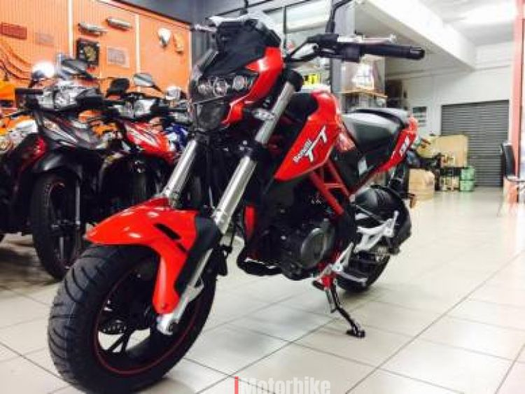 2017 Benelli TNT 135, RM8,400, New Benelli Motorcycles, Benelli Penang |  imotorbike my