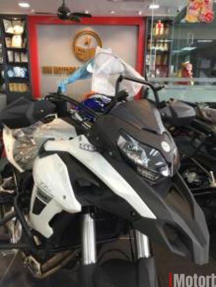 2018 Benelli TRK502 SP2-With Side & Top box- 90% Credit