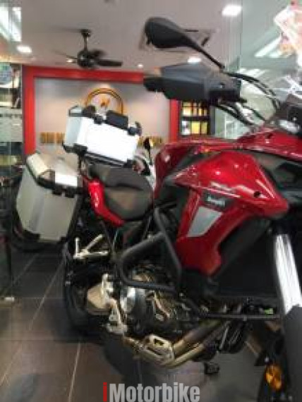 2018 Benelli TRK502 SP2-With Side & Topbox- 90% Credit