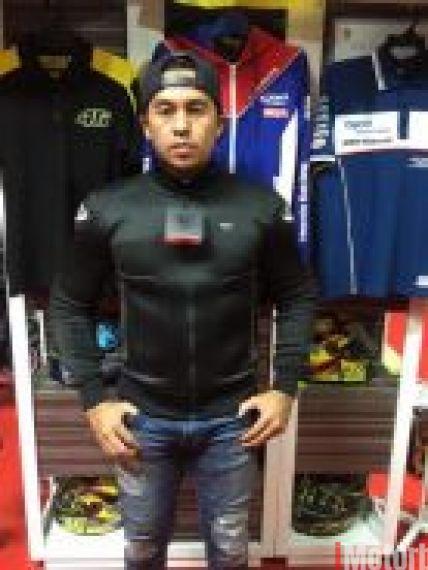 Blauer Motocycle jacket easy air black Size XL