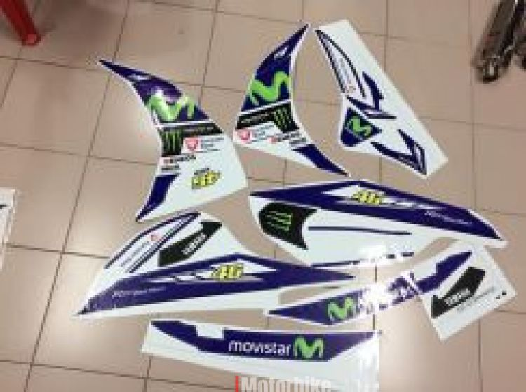 Body sticker movistar Lc135 v1,v2/ v3 v4