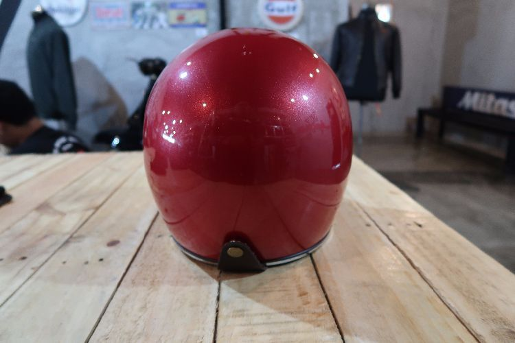 Boulter Helmet Full Face Gringo Red Gloss