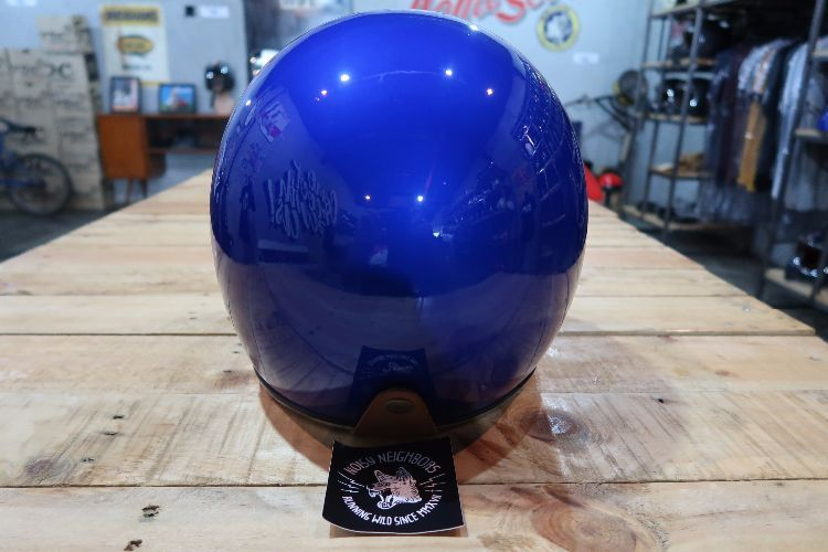 Boulter Helmet Full Face Moto 3 Navy Blue Metallic Gloss