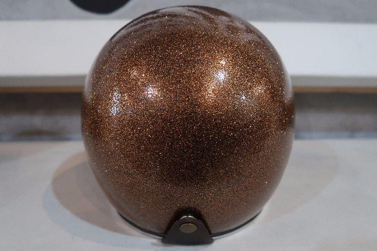 Boulter Helmet Open Face Gold Metalflake